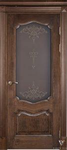 Durys Prestižas su stiklais