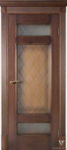 Durys Grandas su stiklais